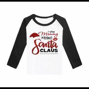 Other - Mommy Kissing Santa Shirt